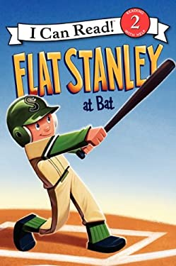 Flat Stanley at Bat 9780061430121
