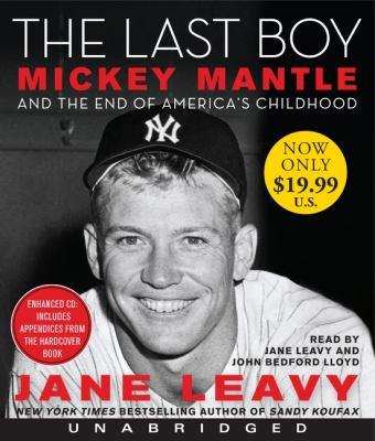 The Last Boy 9780062109002