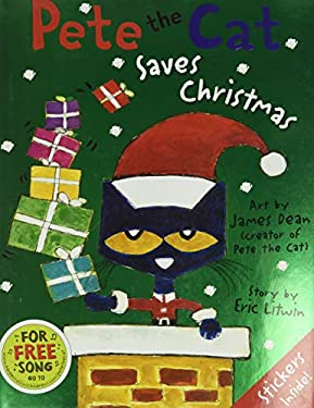 Pete the Cat Saves Christmas 9780062110626
