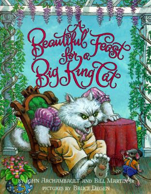 A Beautiful Feast for a Big King Cat