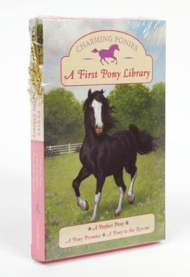 A First Pony Library [With Necklace and 3 Pony Charms] 9780061430299