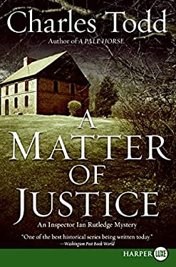 A Matter of Justice 9780061719769