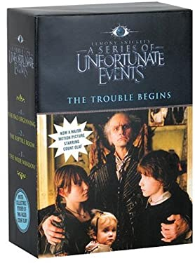 A Series of Unfortunate Events Box: The Trouble Begins Movie Tie-In Edition