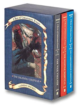 A Series of Unfortunate Events Box: The Dilemma Deepens (Books 7-9) 9780060556204