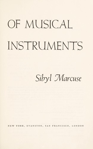 A Survey of Musical Instruments