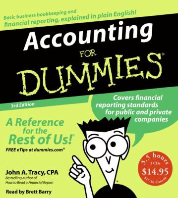 Accounting for Dummies 9780061374340