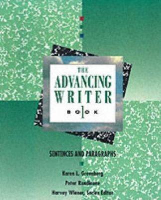 Advancing Writer Book 1: Sentences and Paragraphs: Advancing Writer