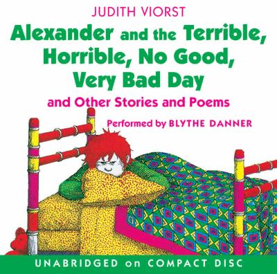 Alexander and the Terrible, Horrible, No Good, Very Bad Day CD: Alexander and the Terrible, Horrible, No Good, Very Bad Day CD