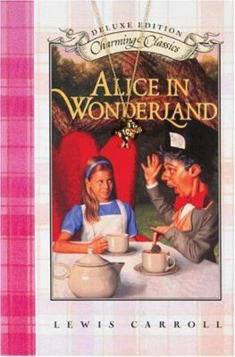 Alice in Wonderland Deluxe Book and Charm [With Gold-Tone Rabbit Charm]
