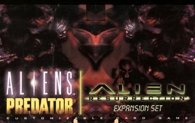 Aliens Predator Customizable Card Game: Alien Resurrection Expansion Set