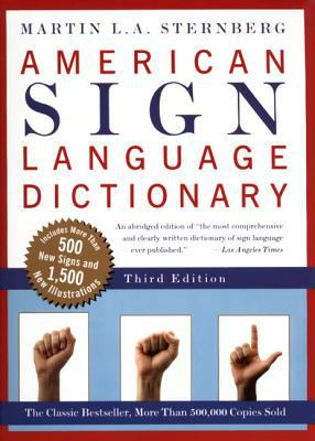 American Sign Language Dictionary-Flexi 9780062736345