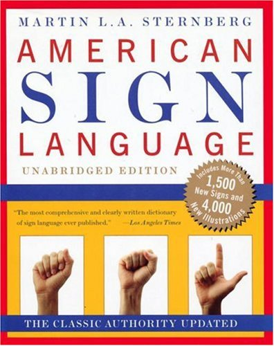 American Sign Language Dictionary 9780062716088