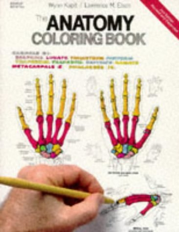 Anatomy Coloring Book By Wynn Kapit Lawrence M Elson