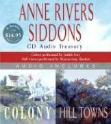 Anne Rivers Siddons Audio Treasury: Colony and Hill Towns 9780061153822