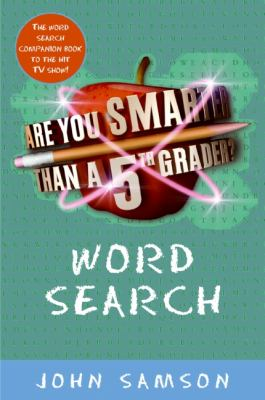 Are You Smarter Than a Fifth Grader? Word Search 9780061651557