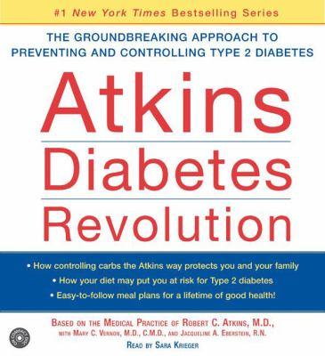 Atkins Diabetes Revolution CD: Atkins Diabetes Revolution CD 9780060727475