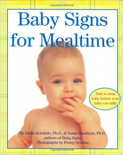 Baby Signs for Mealtime 9780060090739