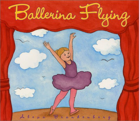 Ballerina Flying