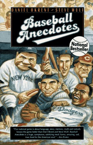 Baseball Anecdotes Ri