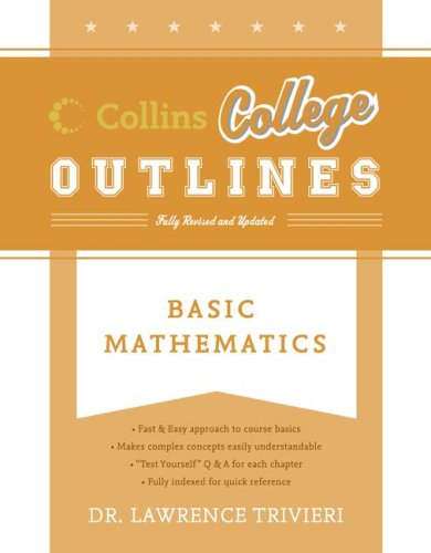 Basic Mathematics 9780060881467