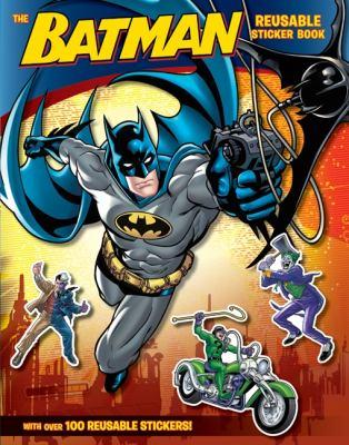 The Batman Reusable Sticker Book