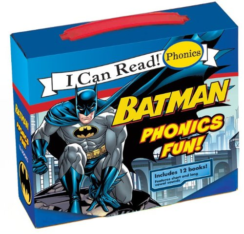 I Can Read! Phonics: Batman Phonics Fun 9780061885426