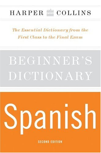 Beginner's Spanish Dictionary