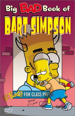 Big Bad Book of Bart Simpson 9780060555900