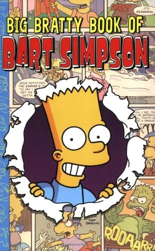 Big Bratty Book of Bart Simpson 9780060721787
