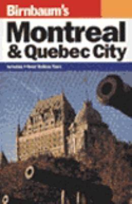 Birnbaum's Montreal and Quebec City 1995