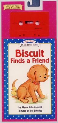 Biscuit Finds a Friend Book and Tape [With Book]