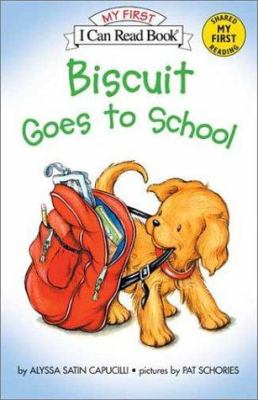Biscuit Goes to School Book and Tape [With Cassette] 9780060094263
