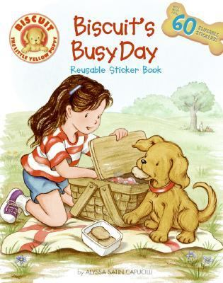 Biscuit's Busy Day: Reusable Sticker Book [With Reusable Stickers]