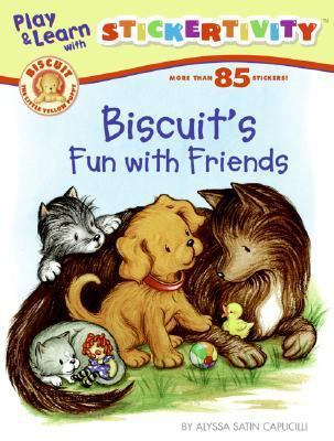 Biscuit's Fun with Friends [With More Than 85 Stickers]