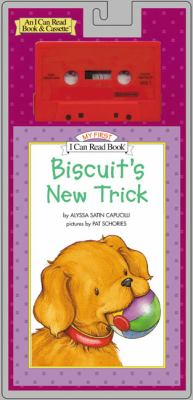 Biscuit's New Trick Book and Tape [With Book]