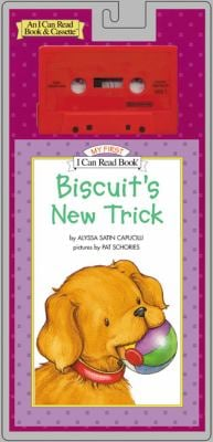 Biscuit's New Trick Book and Tape [With Book] 9780064443005