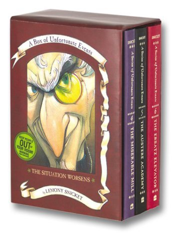Box of Unfortunate Events: The Situation Worsens: Books 4-6