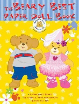 Build-A-Bear Workshop the Beary Best Paper Doll Book