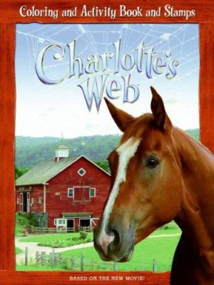 Charlotte's Web: Coloring and Activity Book and Stamps [With Stamp Pad and Stamp]