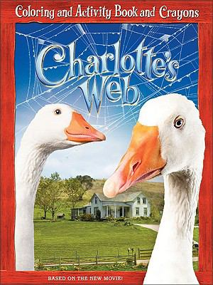Charlotte's Web: Coloring and Activity Book and Crayons [With Crayons]