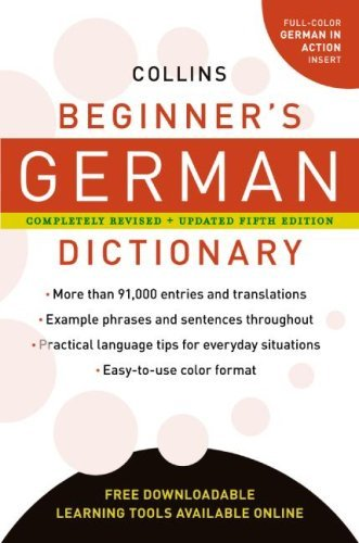Collins Beginner's German Dictionary 9780061374883
