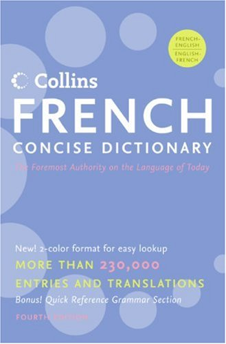 Collins French Concise Dictionary 9780061141829