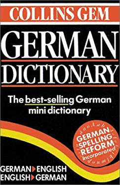 Collins Gem German Dictionary, 6th Edition 9780060935054