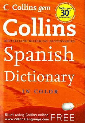 Collins Gem Spanish Dictionary, 8e 9780061995170