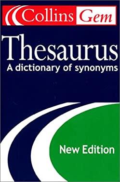 Collins Gem Thesaurus, 2nd Edition