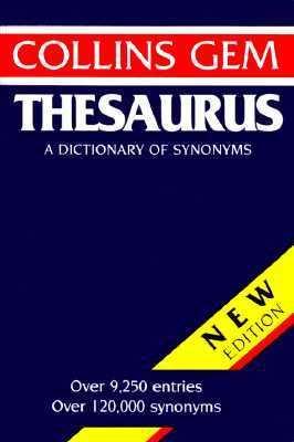 Collins Gem Thesaurus