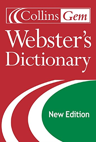 Collins Gem Webster's Dictionary, 2nd Edition