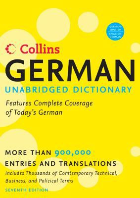 Collins German Unabridged Dictionary 9780061374906