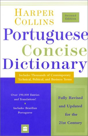 Collins Portuguese Concise Dictionary Second Edition 9780060936945