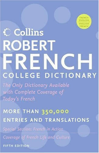Collins Robert French College Dictionary